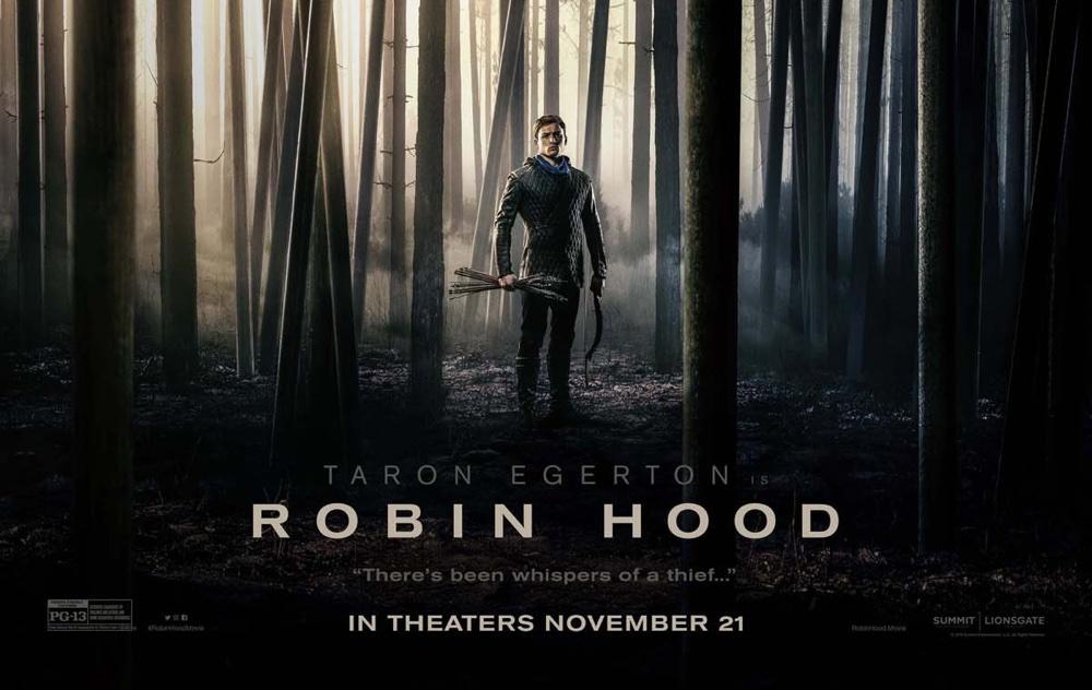 Robin Hood (2018) – plakat filmu