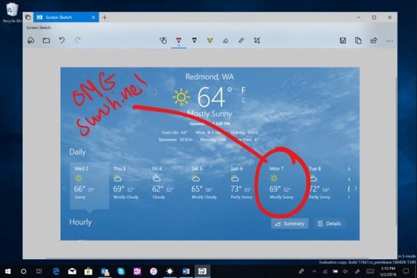 W Windows 10 pojawi się narzędzie do kadrowania zrzutów ekranu…
