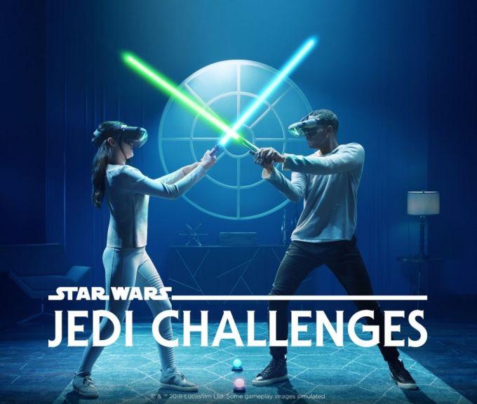 Star Wars™: Jedi Challenges - miecze świetlne - gra AR