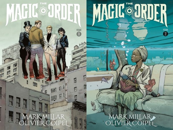 "Zwiastun pierwszego komiksu od Netfliksa pt. ""The Magic Order"""