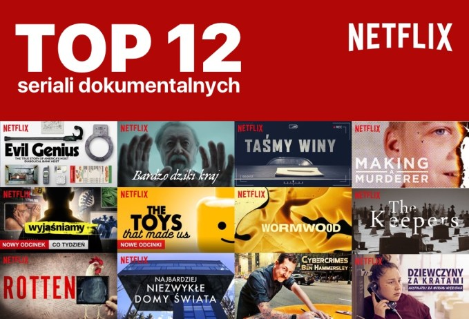 TOP 12 seriali dokumentalnych na Netfliksie (ranking)