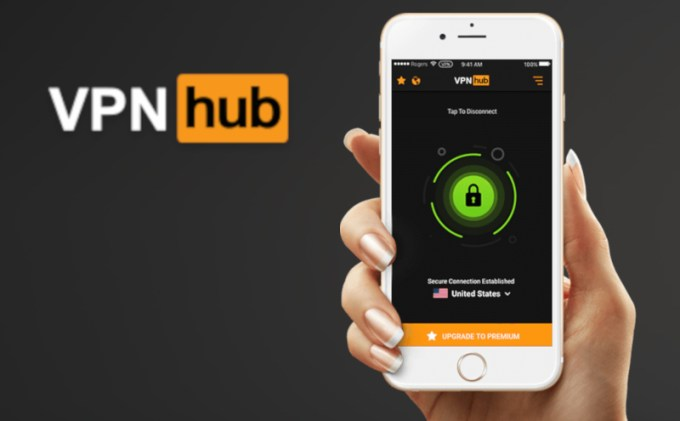 Aplikacja VPNhub