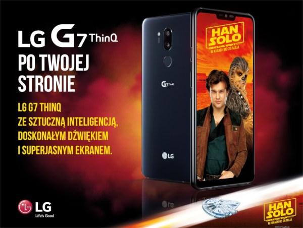 Kampania LG G7 ThinQ po Twojej Stronie z Disneyem