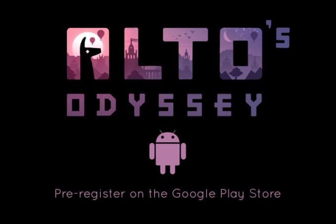 Wstępna rejestracja Alto's Odyssey na Androida