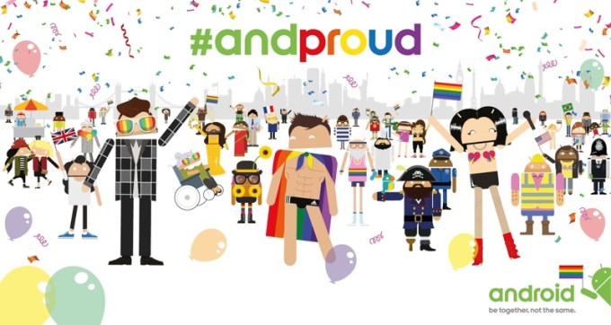 Android proud