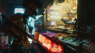 Kadr ze zwiastuna Cyberpunk 2077