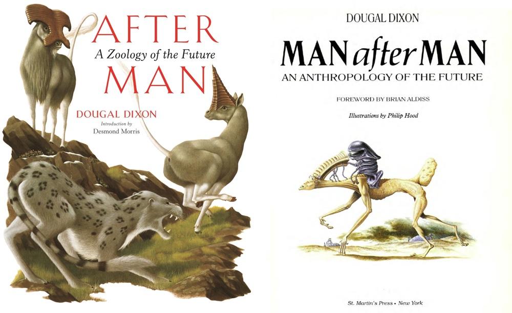 """Książki """"After Man"""" i Man After Man"""" Dougala Dixona"""