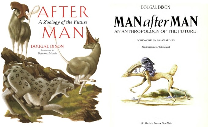 "Książki ""After Man"" i Man After Man"" Dougala Dixona"