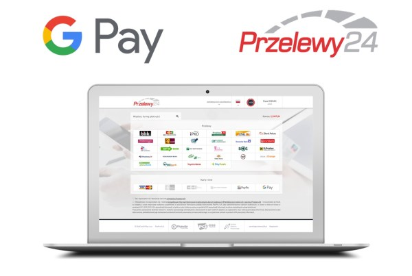 Płatności internetowe za pomocą Google Pay™ w Przelewy24