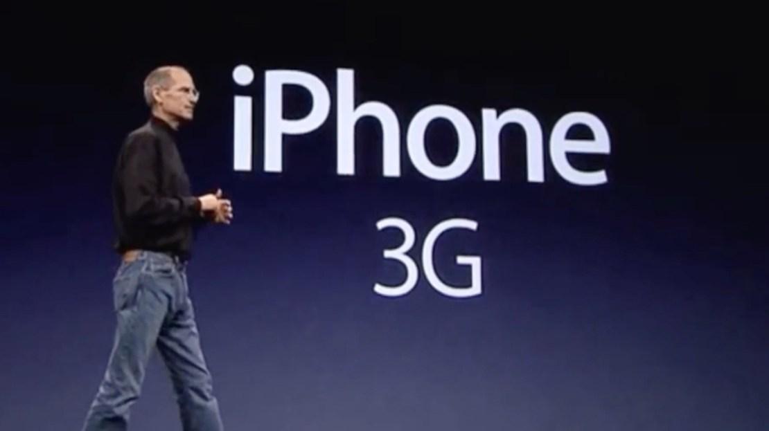 iPhone 3G, Steve Jobs (8 czerwca 2008 r.)
