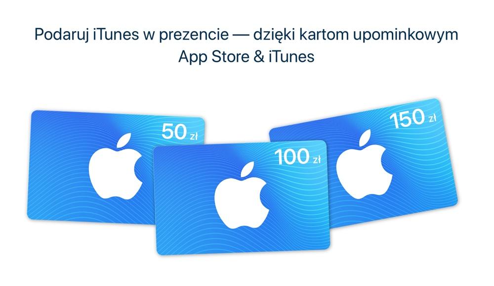 Karty upominkowe App Store & iTunes w Polsce