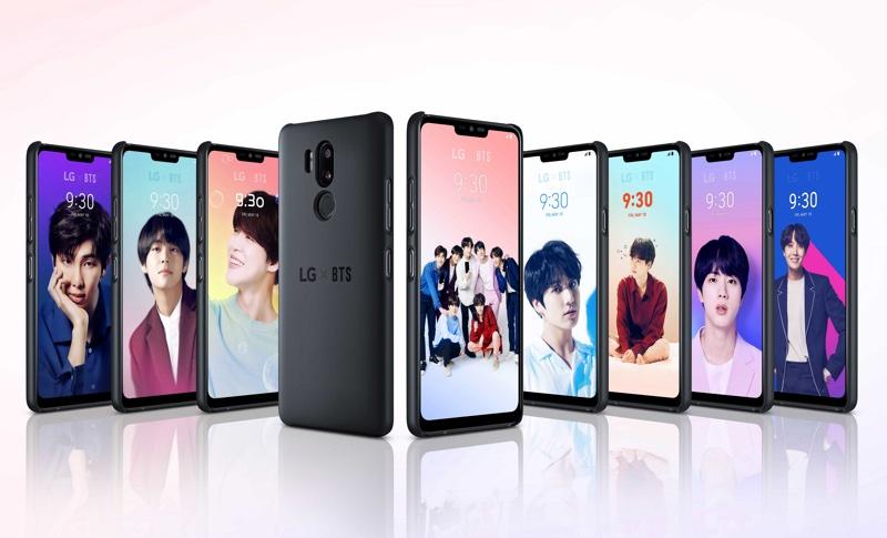 Kampania LG G7 ThinQ z zespołem BTS (K-POP)