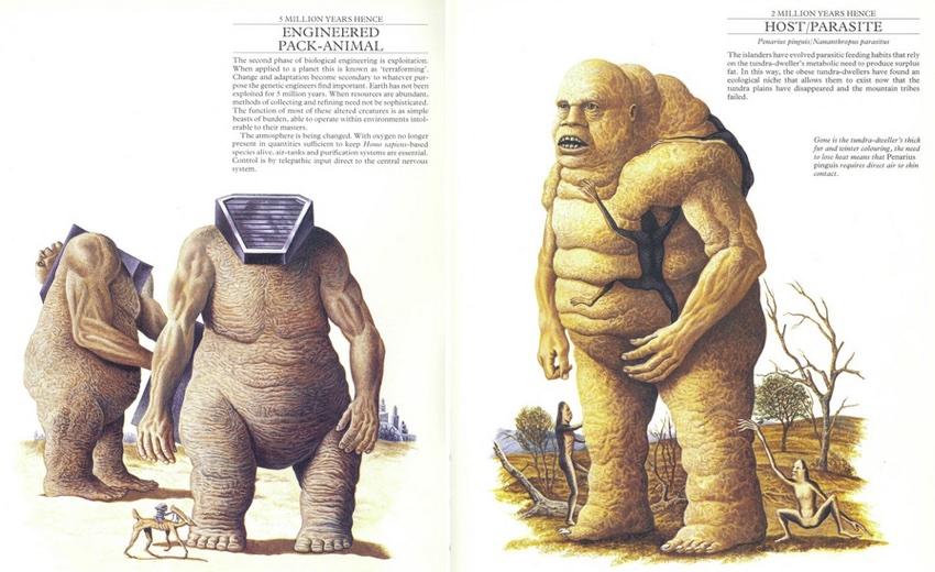 "fragment książki ""Man After Man"" (fot. 1)"