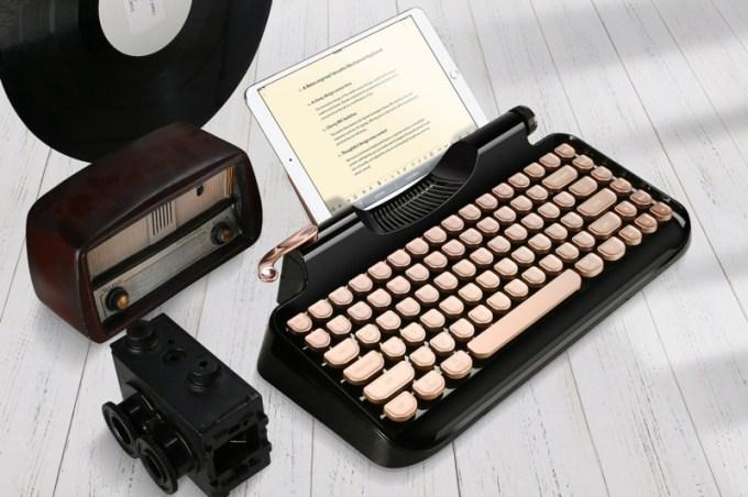 Mechaniczna klawiatura retro Rymek od KnewKey (kolor czarny)