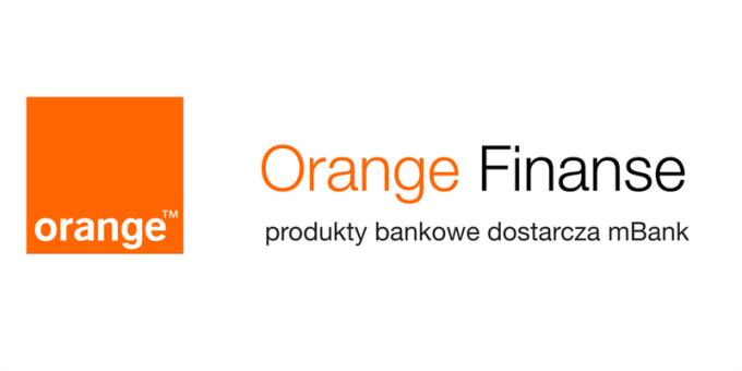 Logo Orange Finanse dostarczane przez mBank