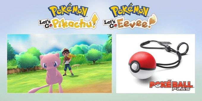 Pokemon Let's Go Pikachu!, Let's GO Eevee!