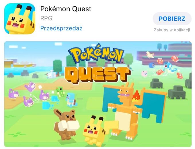 Pokémon Quest w przedsprzedaży