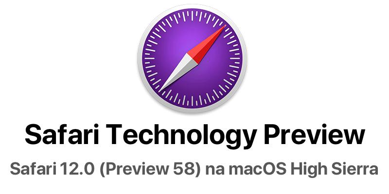 Safari 12 (Technology Preview 58)