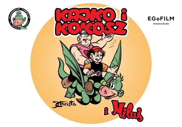 """Powstanie serial animowany """"Kajko i Kokosz"""" w technice 2D"""