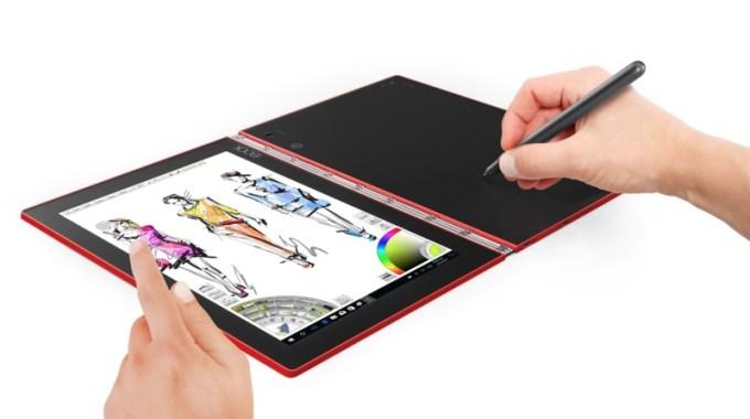 Szkicowanie na tablecie YOGA Book (z Windowsem)