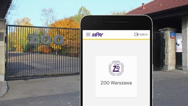 Bilety do warszawskiego ZOO kupisz już przez smartfona w mPay