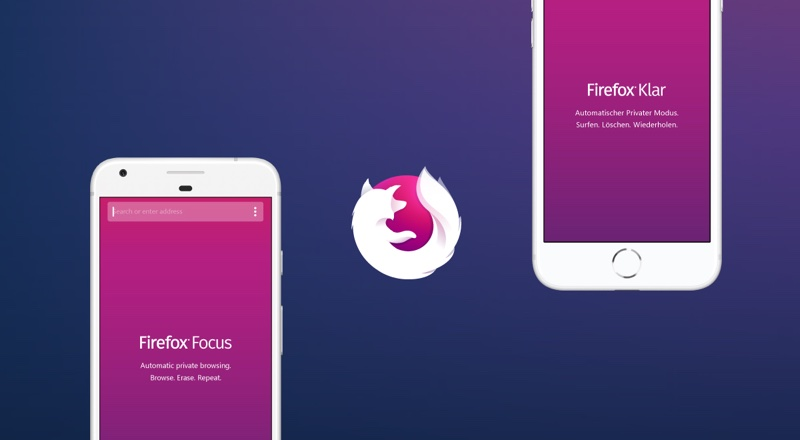 Przeglądarka Firefox Focus (mobile)