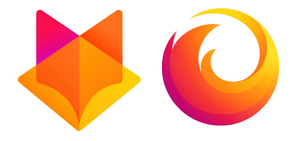 Propozycje nowego logo marki Firefox (2018)