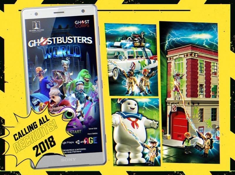 Ghostbusters World - gra w rozszerzonej rzeczywistości już w 2018 r.
