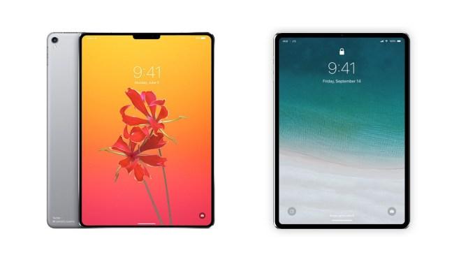 Koncpet iPada Pro z Face ID (Álvaro Pabesio)