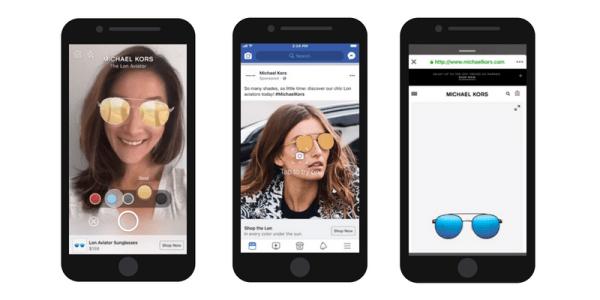 Facebook testuje reklamy w rozszerzonej rzeczywistości (AR)