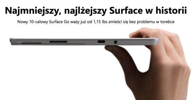 Surface GO Microsoft