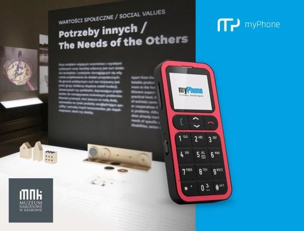 """myPhone na wystawie """"Polski dizajn po roku 1989"""" w MNK"""