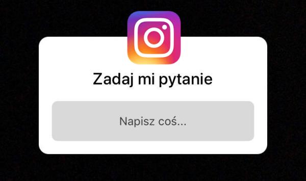 """Nowa opcja """"Zadaj mi pytanie"""" na Instagramie"""