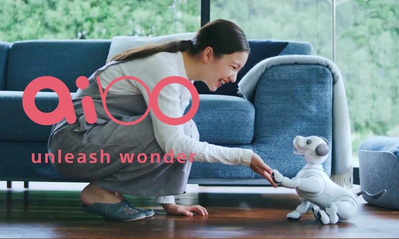 Pies-robot Aibo od Sony