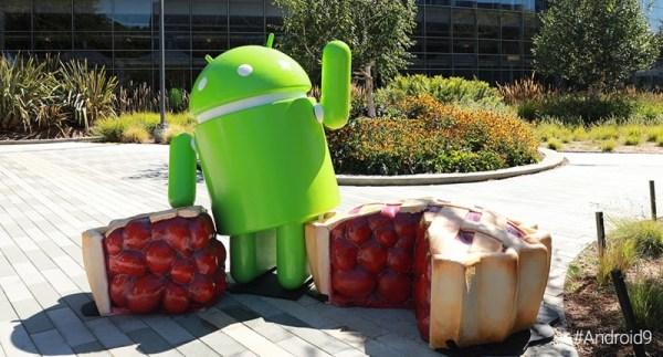 Oto oficjalny pomnik Androida 9 Pie