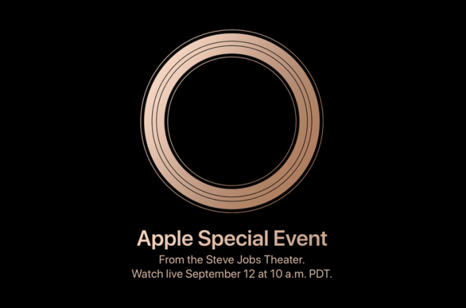 Apple Special Event (live, online) iPhone 2018 – 12 września 2018 r.