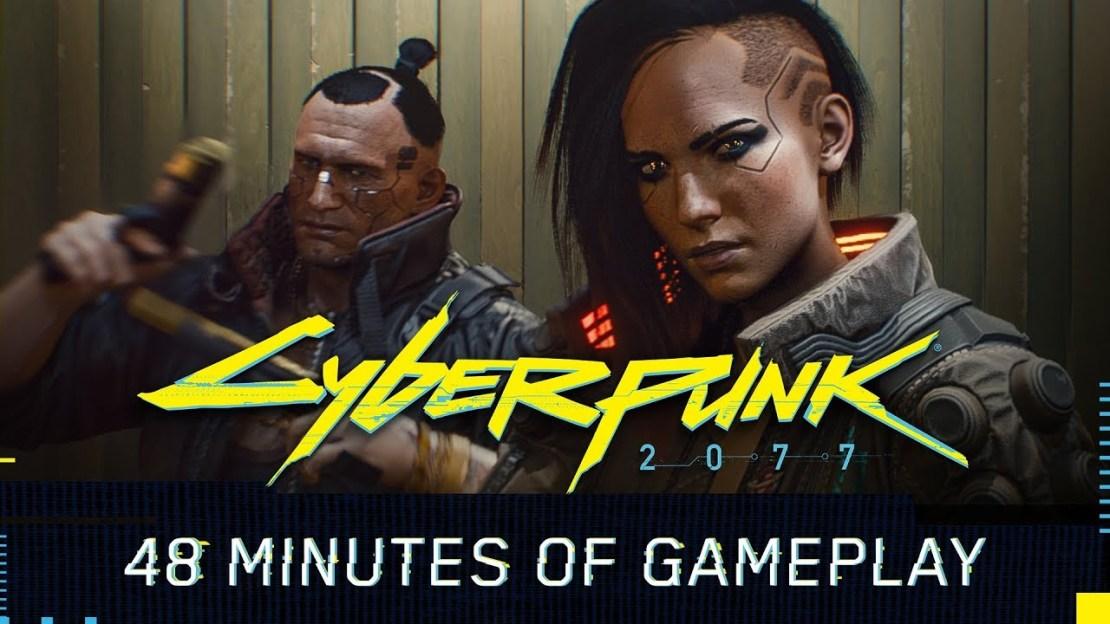 Gameplay (48 min) z gry Cyberpunk 2077