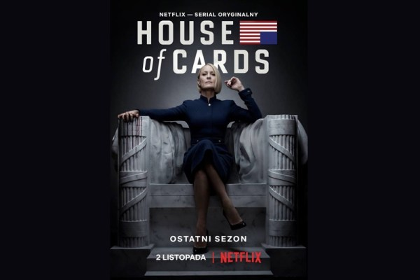 "Ostatni sezon ""House of Cards"" już 2 listopada"
