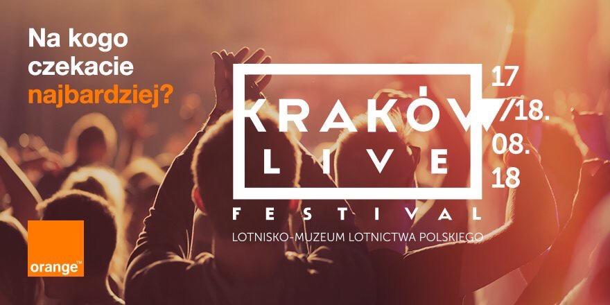 10 GB od Orange Kraków Live Festival (17-18 sierpnia 2018 r.)