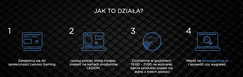 Jak wziąć udział w konkursie Lenovo Legion?
