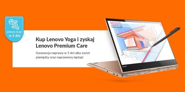 Nowa akcja Lenovo Premium Care dla użytkowników laptopów Yoga