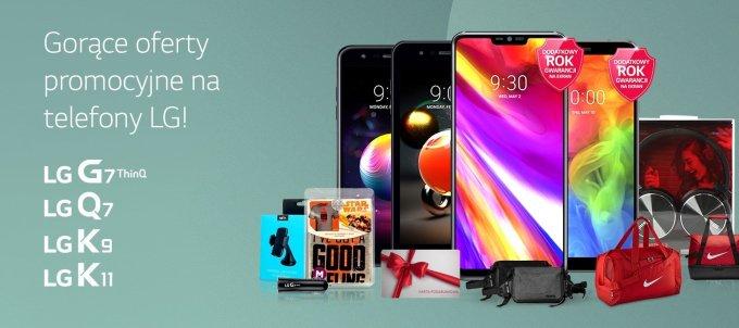 Letnie promocje smartfonów LG (2018)