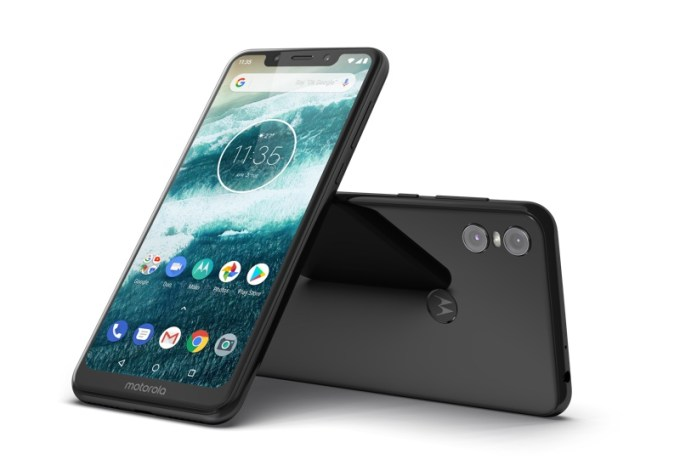Motorola one z Androidem One