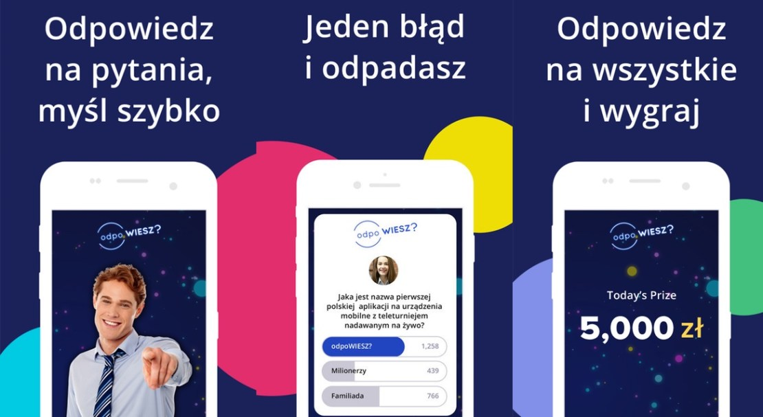 Aplikacja mobilna odpoWIESZ? (zrzuty ekranu)