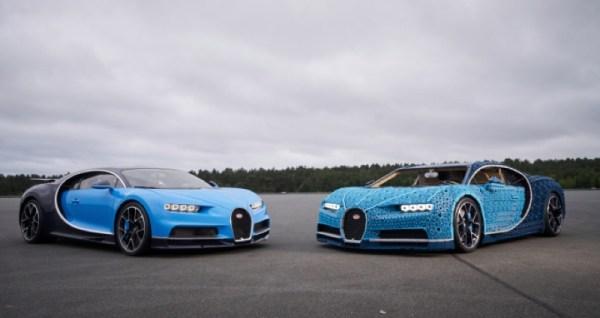 LEGO zbudowało Bugatti z ponad miliona sztuk klocków Technic