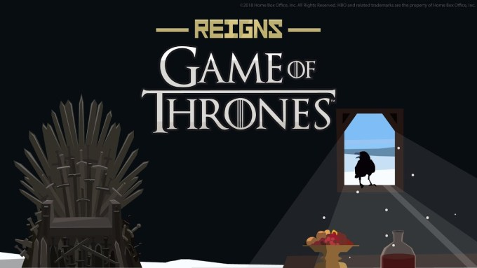 Reigns: Game of Thrones - gra mobilna