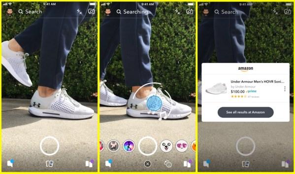 Visual Search, czyli zakupy przez Snapchata na Amazonie