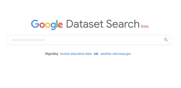 Google uruchomiło Dataset Search – wyszukiwarkę zbiorów danych