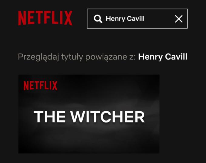 Henry Cavill zagra Geralta w serialu The Witcher Netfliksa