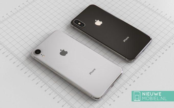 Koncepcja iPhone'a 9 i iPhone'a Xs (tył)